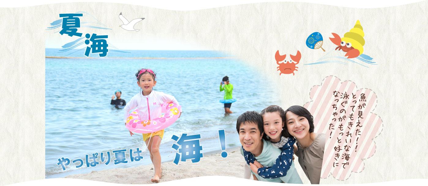 やっぱり夏は海!